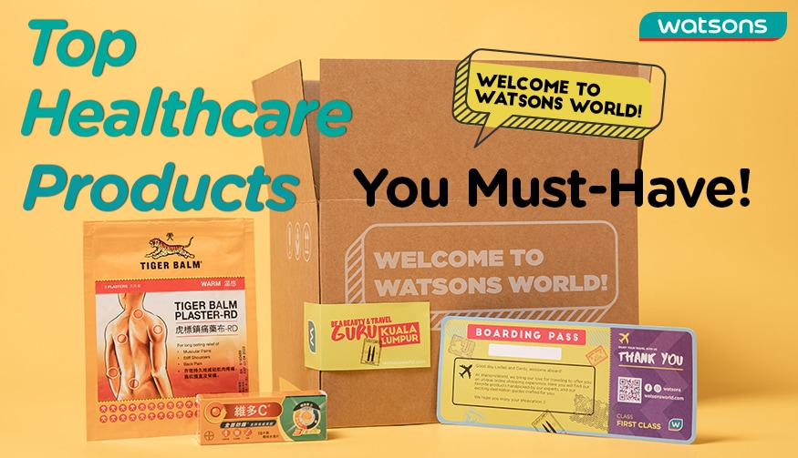 Watsons World, Healthcare product, Supplement