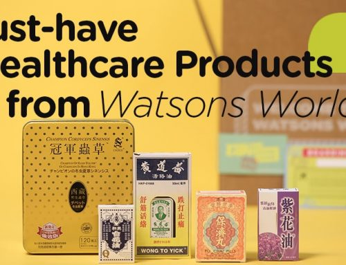 Must-have healthcare products from Watsons World